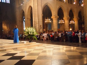 Easter Sunday Mass at Notre Dame